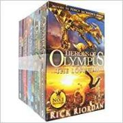 Heroes of Olympus - 5 Books