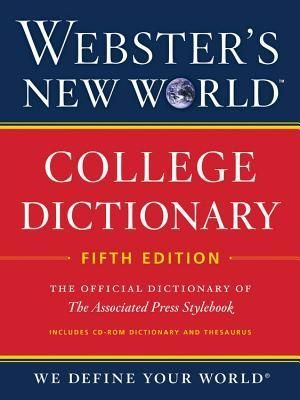 Webster's New World College Dictionary, 5th Edition +CD