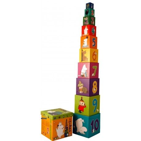 Moomin Stacking Cubes