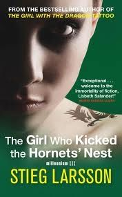 THE GIRL WHO KICKED THE HORNETS` NEST