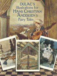 Dulac's Illustrations for Hans Christian Andersen's Fairy Tales: 24 Cards