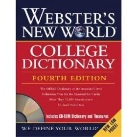 Webster's New World College Dictionary, 4th Edition +CD