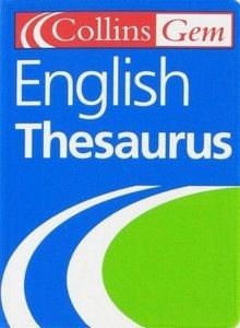 English Thesaurus (Collins GEM)