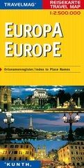 Map Europa Travelmag