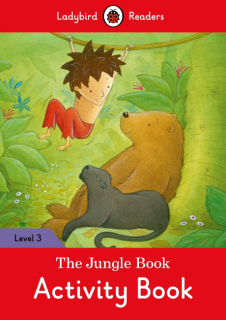 Ladybird Readers The Jungle Book Activity Book Level 3