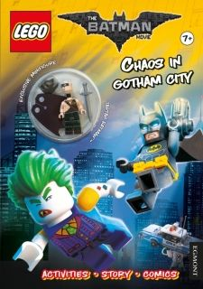 LEGO Batman movie Chaos in Gotham City