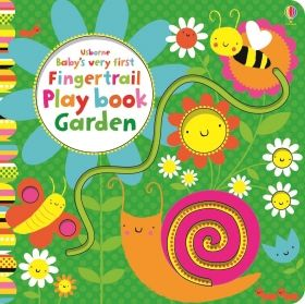 Baby`s Very First Fingertrail Play Book Garden