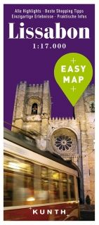 Map Lissabon Easy Map