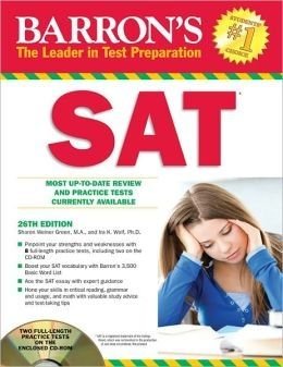 Barron's SAT 26th Ed. + CD-ROM
