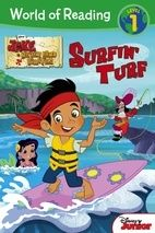 World of Reading: Jake and the Never Land Pirates Surfin' Turf Level 1