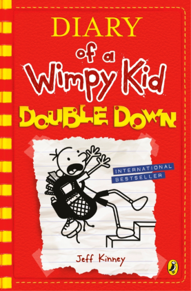 Diary of a Wimpy Kid 11: Double Down HB