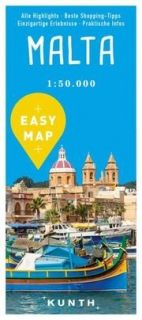 Map Malta Easy Map
