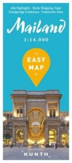 Map Mailand Easy Map