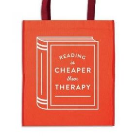 Торба Reading is Cheaper Than Therapy Reusable Shopping Bag