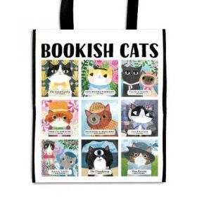 Торба Bookish Cats Reusable Shopping Bag