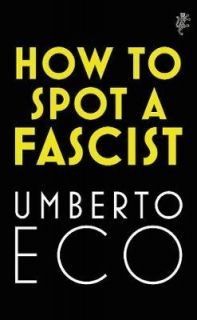 How to Spot a Fascist