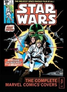 Star Wars The Complete Marvel Comics Covers Mini Book, Vol. 1