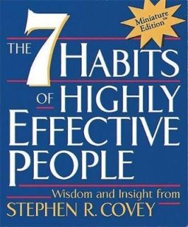 The 7 Habits of Highly Effective People (Miniature Edition)