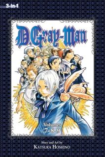 D.Gray-man 3-in-1 Edition Vol. 3