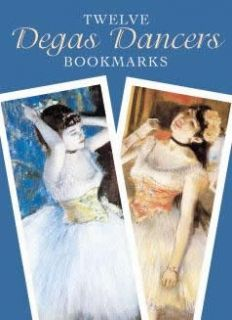 Twelve Degas Dancers Bookmarks