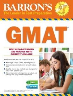 Barron's GMAT 2014 +CD-ROM