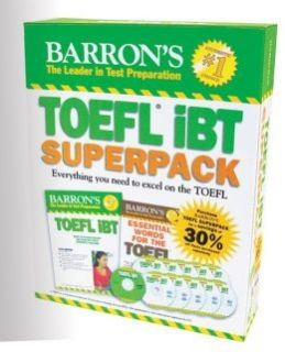 Barron's TOEFL iBT Superpack 2nd Ed.