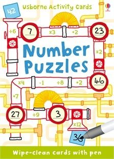 Number Puzzles - Activity Cards