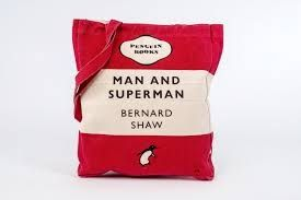Торба за книги Man and Superman