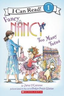 I can read Lev.1 Fancy Nancy Too many Tutus