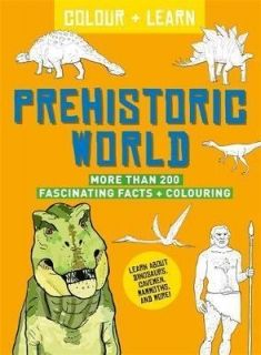 Colour + Learn: Prehistoric World