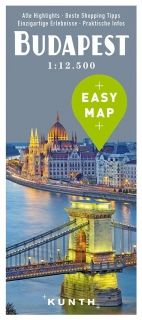 Map Budapest Easy Map