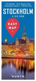 Map Stockholm Easy Map