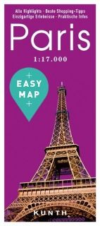 Map Paris Easy Map