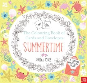 The Colouring Book of Cards and Envelopes – Summertime