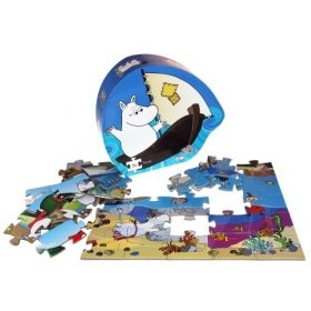 Moomin and the Sea Puzzle 36 pcs