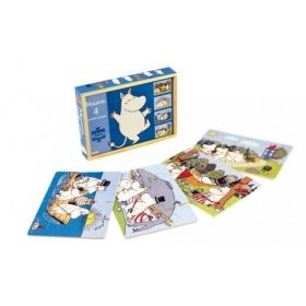 Moomin 4 Wooden Puzzles