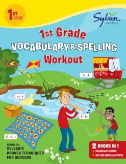 1st Grade Vocabulary & Spelling Workout