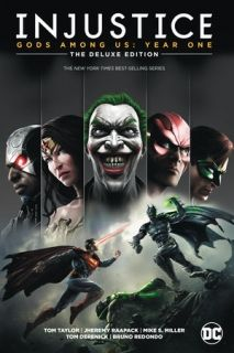 Injustice Gods Among Us Year One The Deluxe Edition