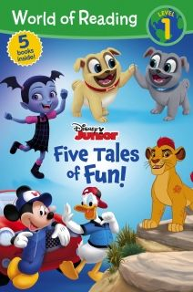 World of Reading Disney Junior Five Tales of Fun (Level 1 Reader Bindup)