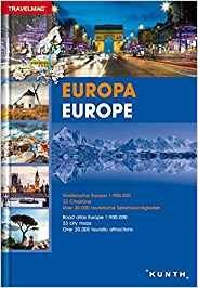 Europa Road Atlas Europe 2016/2017