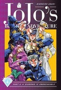 JoJo`s Bizarre Adventure Part 4--Diamond Is Unbreakable, Vol. 4