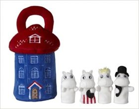 Играчка Moomin House with finger puppet
